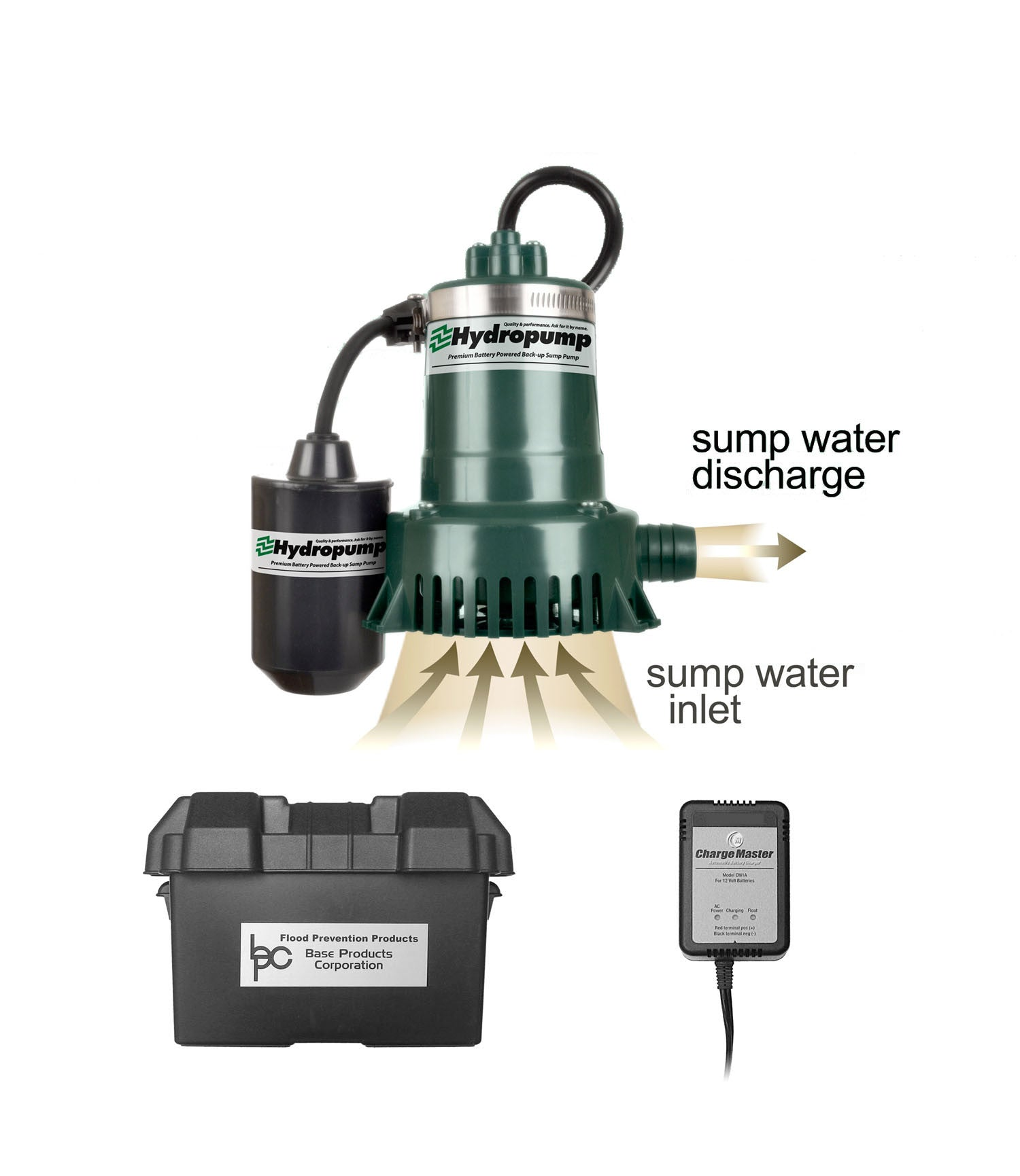 battery backup sump pump hydropump dh900 battery backup sump diy install 29339