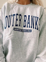 Outer Banks Casual Print Tops