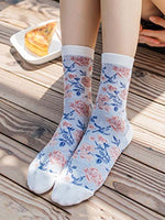 Casual Floral Socks