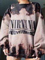 Nirvana Long Sleeve Cotton Sweatshirt