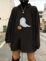 Ghost Print Sweatshirt