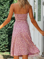 Boho Casual Sling Floral Printed Dress
