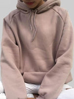 Naked Pink Plain Long Sleeve Embroidery Sweatshirt