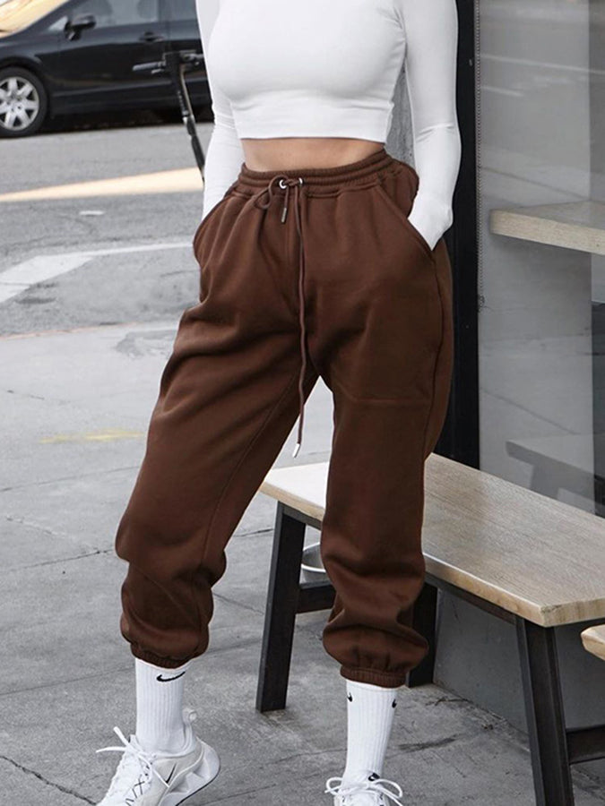 Casual Plain Pants