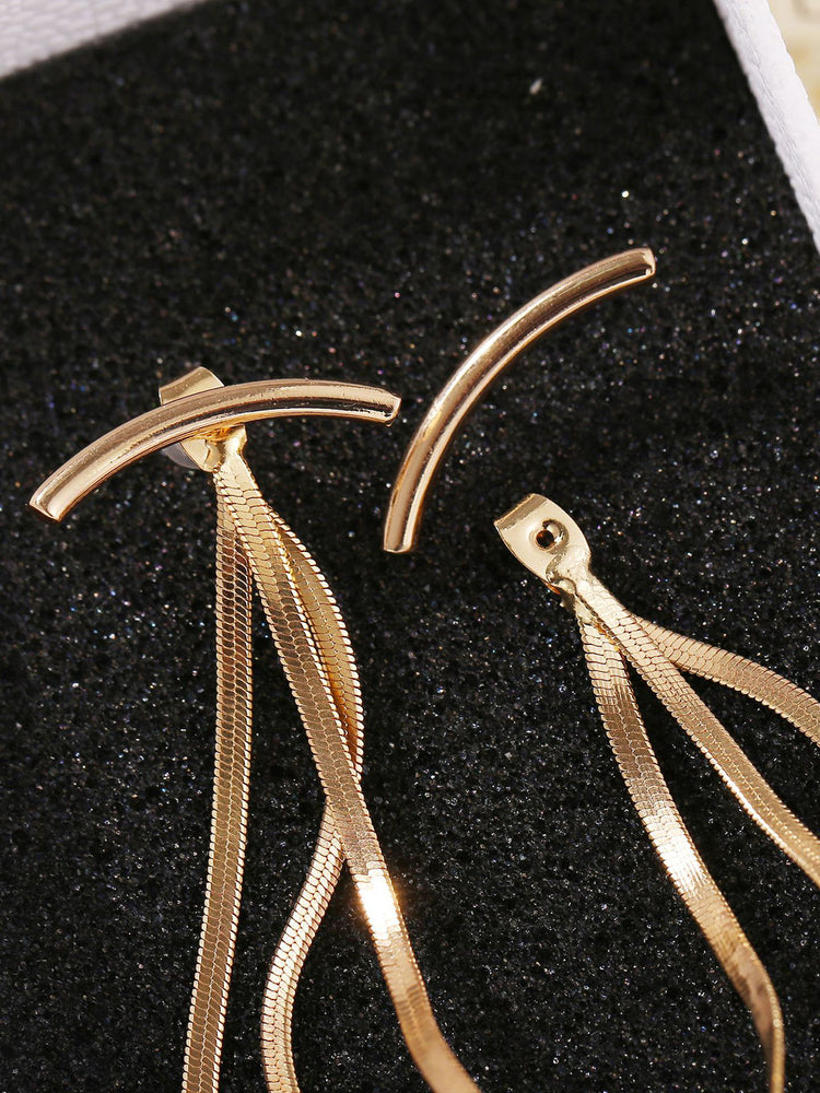 Women Alloy Drop Earrings