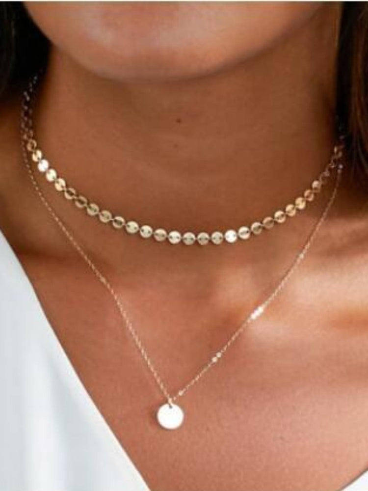 Alloy Sweet Necklaces