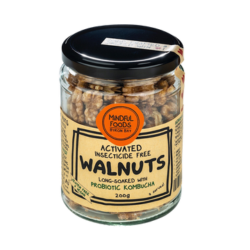 Mindful Foods Organic Insecticide Free Activated Walnuts