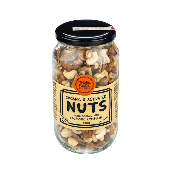 Mindful Foods Organic Activated Mixed Nuts - The Original Organic Company