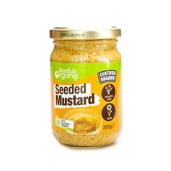 Absolute Organic Seeded Mustard - 200g