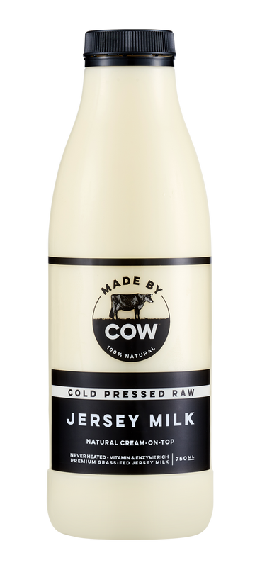 Made By Cow - Cold Pressed Raw Jersey Milk **PRE-ORDER**