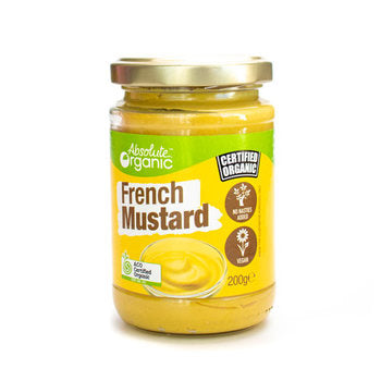 Absolute Organic French Mustard - 200g