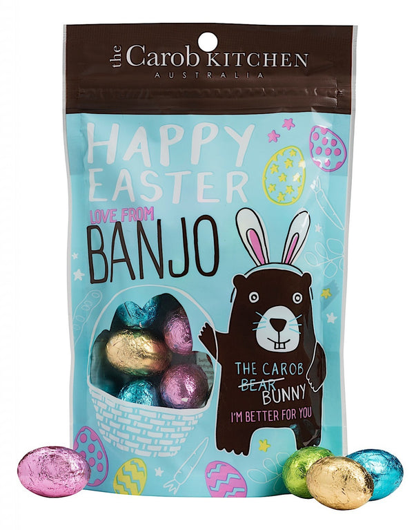 The Carob Kitchen Banjo Easter Hunt Eggs - 140g