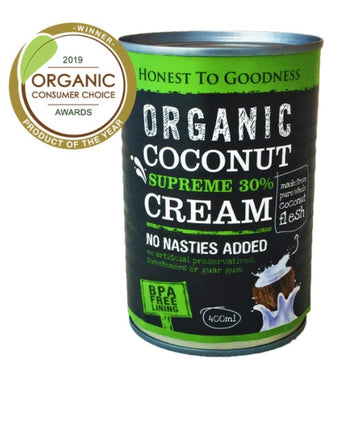 Organic Supreme 30% Coconut Cream 400ml