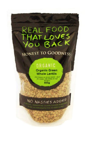 Honest to Goodness - Organic Green Lentils 500g