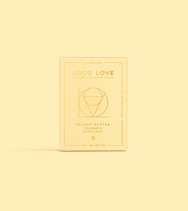 Loco Love - Peanut Butter Caramel with Lions Mane (Twin Pack)