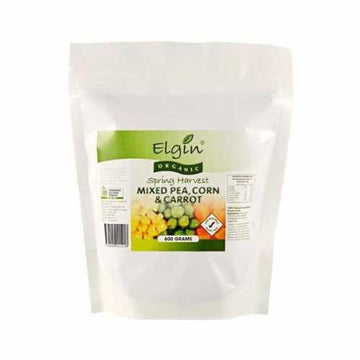 Elgin Organic Frozen Pea, Corn & Carrot Mix - 600g