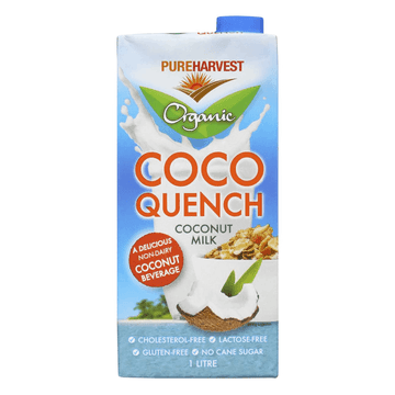 Pure Harvest Organic Coco Quench Coconut Milk - 1L