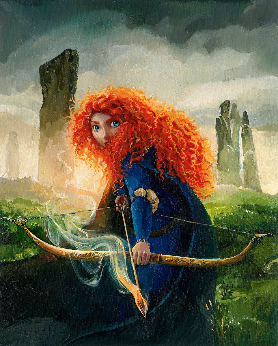 Jim Salvati - Brave Merida