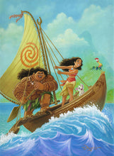 Load image into Gallery viewer, Tim Rogerson – Moana Knows The Way