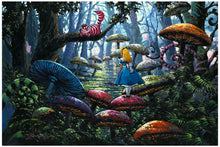 Load image into Gallery viewer, Rodel Gonzalez – A Smile You Can Trust – Alice in Wonderland