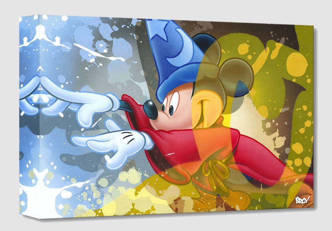 Treasures on Canvas – Mickey Sorcerer – Arcy