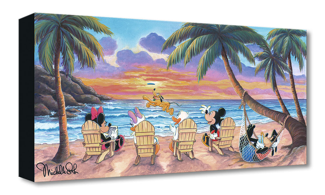 Treasures on Canvas – Beautiful Day At The Beach – Michelle St Laurent