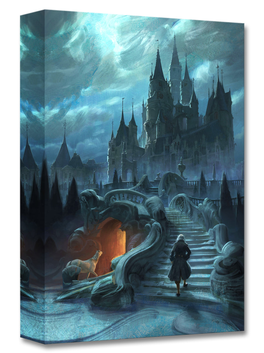 Castle Exterior – Beauty and the Beast Concept Art – Treasures on Canvas