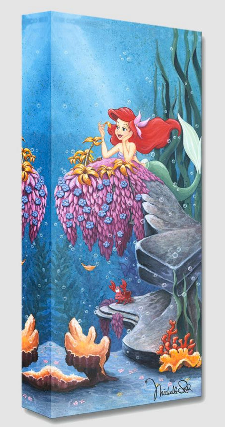 Treasures on Canvas – He Loves Me – The Little Mermaid