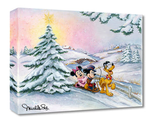 Treasures on Canvas – Winter Sleigh Ride – Michelle St Laurent