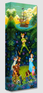 Treasures on Canvas – The Hero of Neverland – Peter Pan