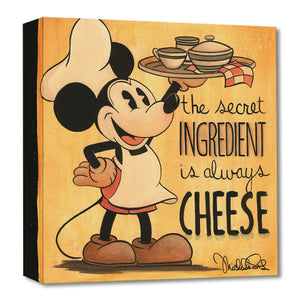 Treasures on Canvas – The Secret Ingredient Is Always Cheese
