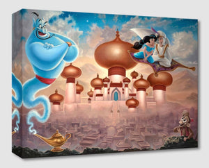 Treasures on Canvas – A Whole New World – Aladdin
