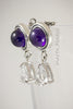 Earrings - AAA Amethyst - Topaz