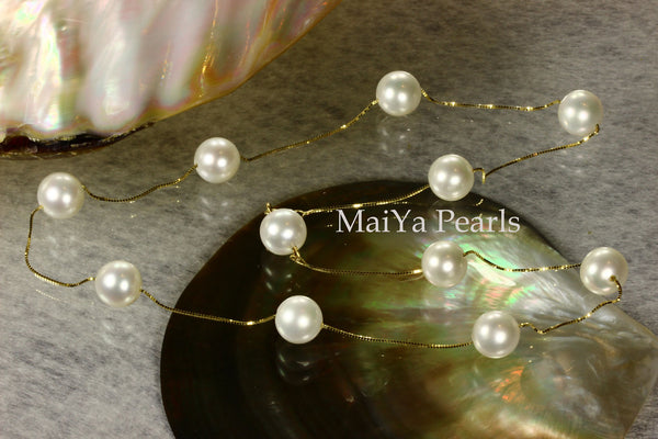 Necklace - AAA Fine Off-white Freshwater Pearl