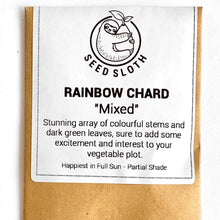 Load image into Gallery viewer, Rainbow Chard - Mixed - Vegetable Seeds Packet