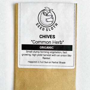 Organic Chives - Herb - Vegetable Seeds Packets