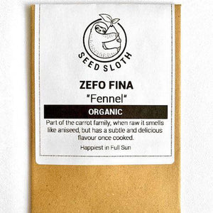 Organic Fennel - Zefo Fina - Vegetable Seeds