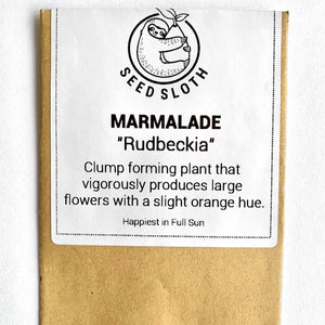 Rudbeckia - Marmalade - Flower Seeds packet - seedsloth.com