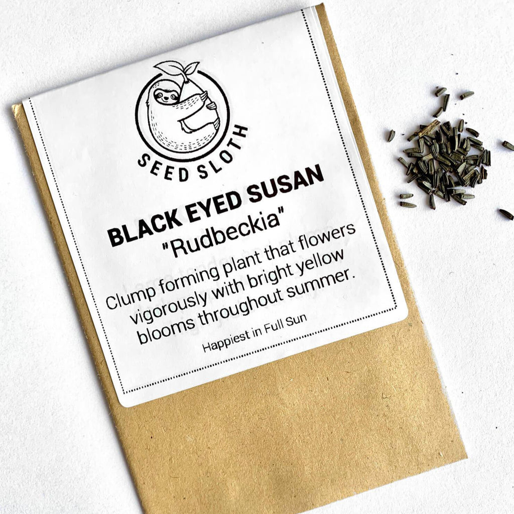 Rudbeckia - Black Eyed Susan - Flower Seeds packet