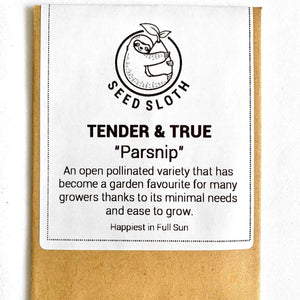 Parsnip - Tender And True - Vegetable Seeds