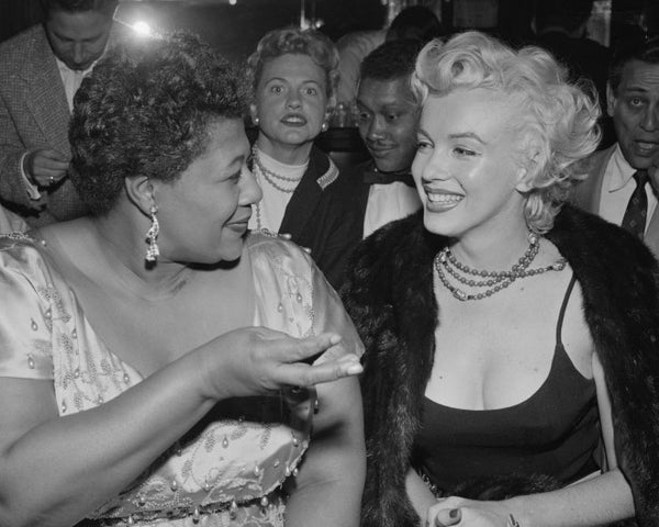 Gal Pals Ella Fitzgerald and Marilyn Monroe