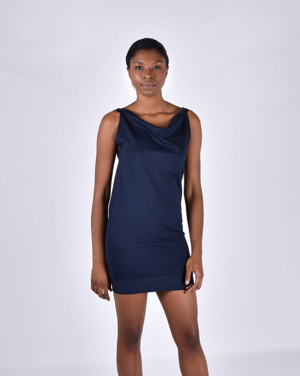 Albatross in Navy 3-in-1 skirt+dress+tank