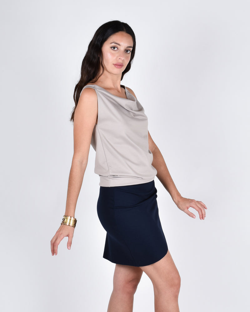 Albatross in Taupe 3-in-1 skirt+dress+tank