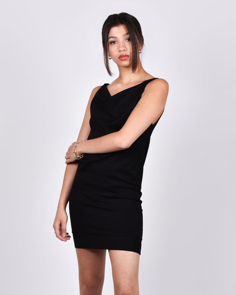 Albatross in Black 3-in-1 skirt+dress+tank