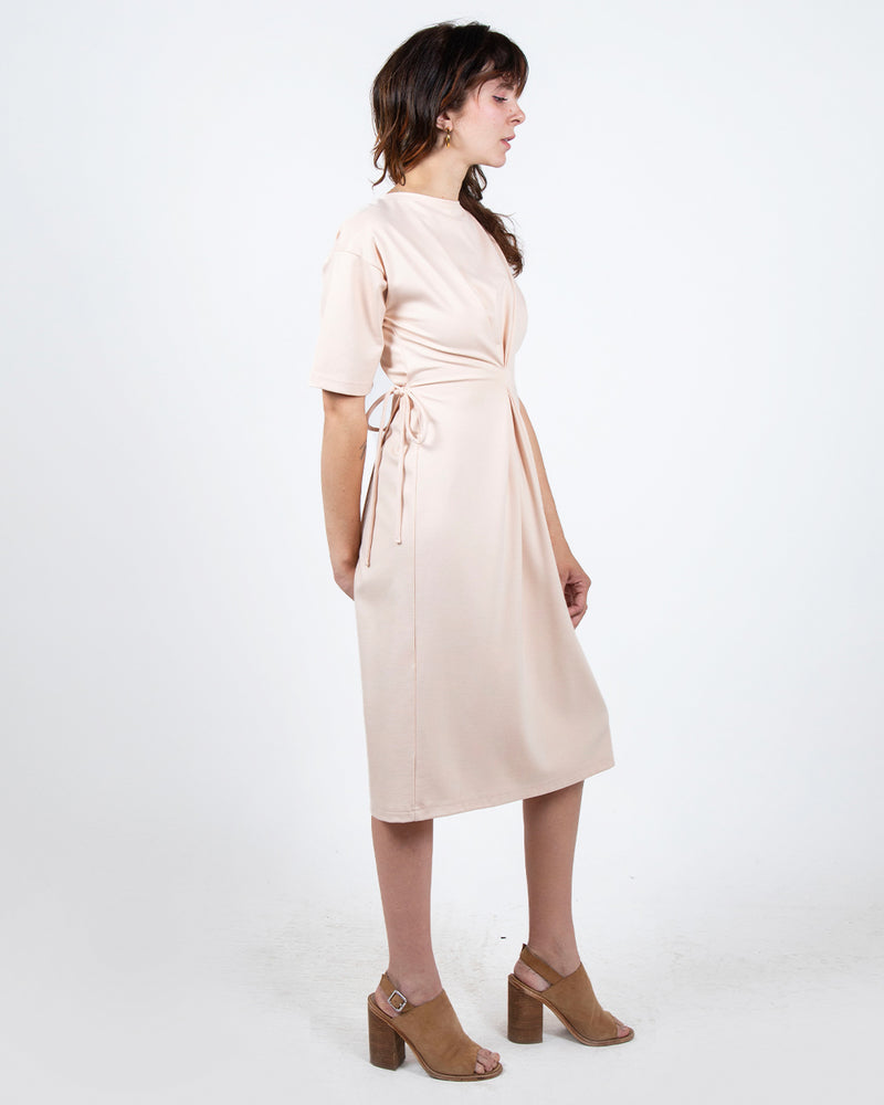 Heron in Light Blush 4-in-1 Two Cardis + Two Dresses - PARIDAEZ