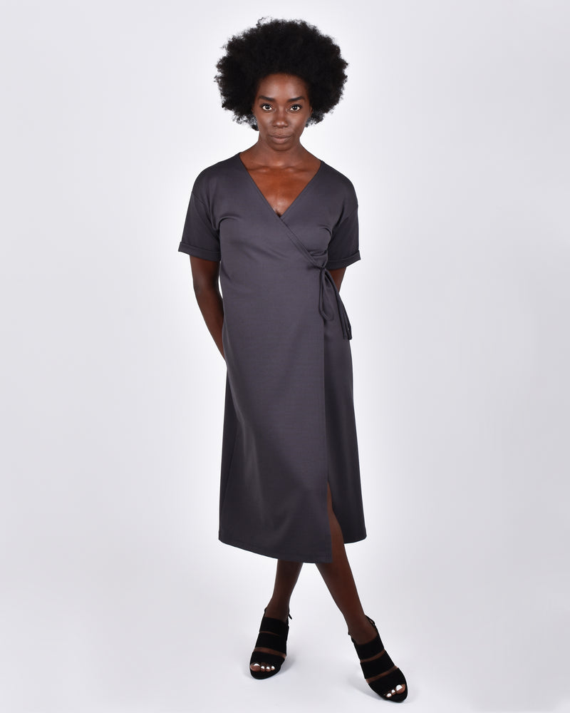 Heron in Pewter 4-in-1 Two Cardis + Two Dresses