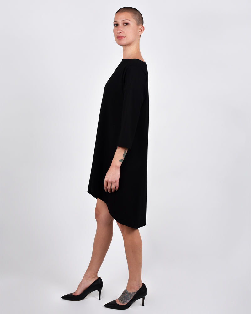 Ibis Dress 2-in-1 in Black