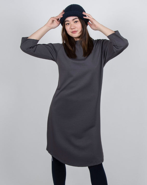Ibis Dress 2-in-1 in Pewter
