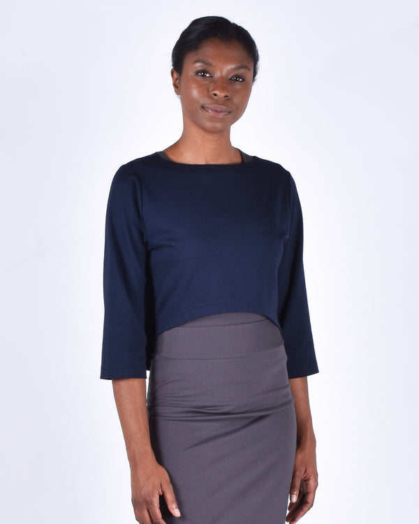 Ibis Top 2-in-1 in Navy - PARIDAEZ