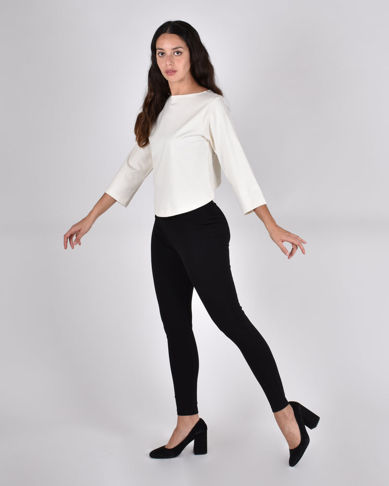 Crane Leggings in Black - PARIDAEZ